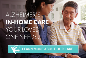 Alezheimer's in-home care your loved one needs. Learn more about our care.