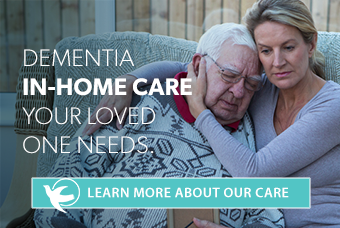 Dementia in-home care your loved one needs. Learn more about our care.